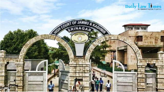 J&K High Court Is Now High Court Of Jammu And Kashmir And Ladakh