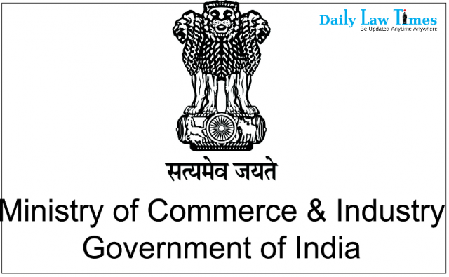 Ministry Of Commerce And Industry Notifies Various Measures For Promoting Export